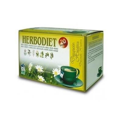 HERBODIET DEPURACIÓN HEPATICA 20 filtros Novadiet