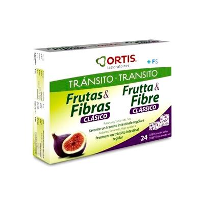 FRUTAS Y FIBRAS 24 cubitos Ortis