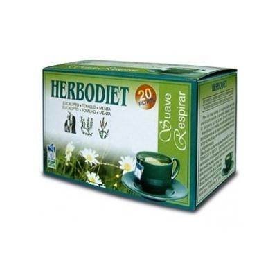 HERBODIET SUAVE RESPIRAR 20 filtros Novadiet